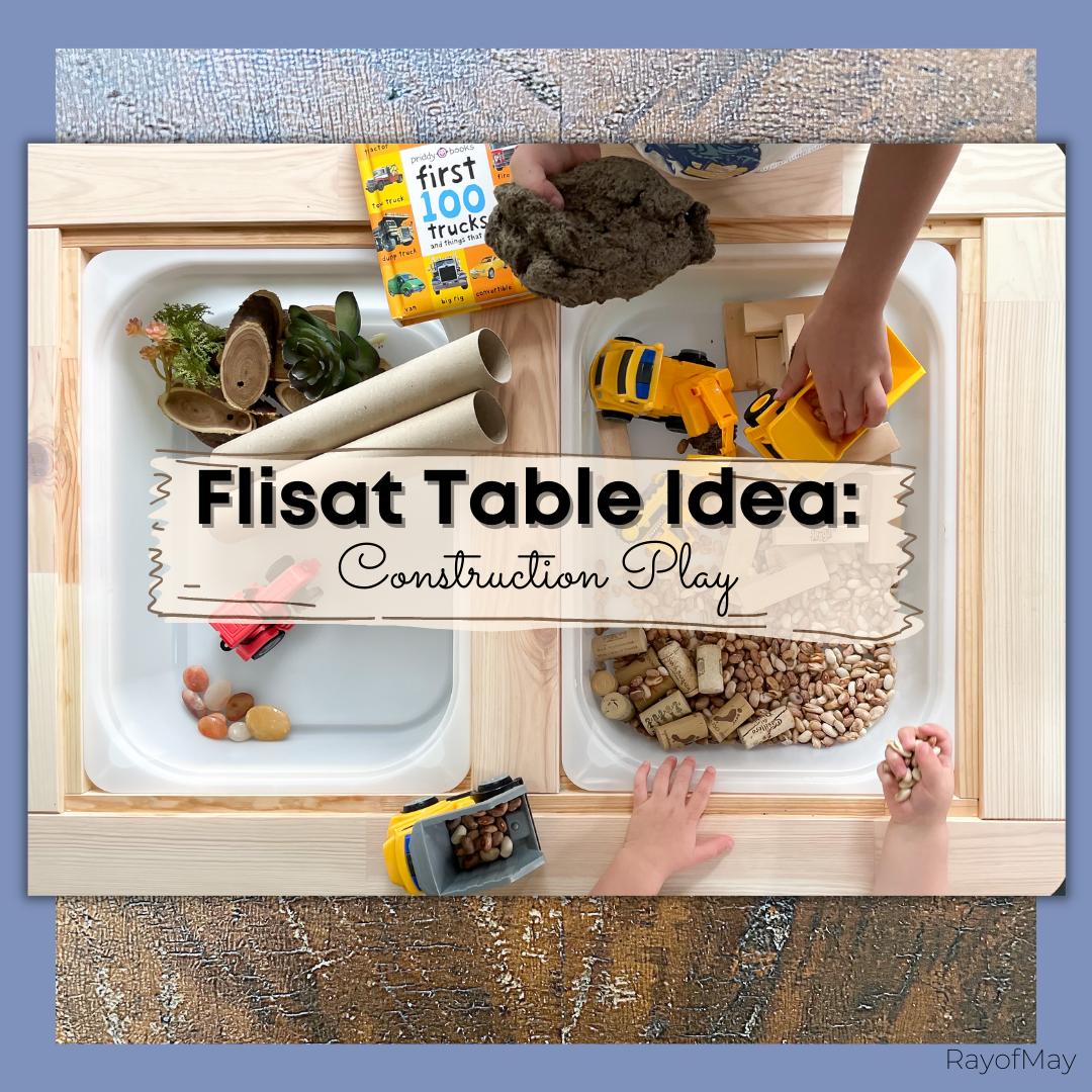 Flisat Table Idea Construction Play